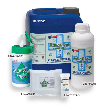 Aquadosa Sanitisers From Linis Pure Water Systems Office